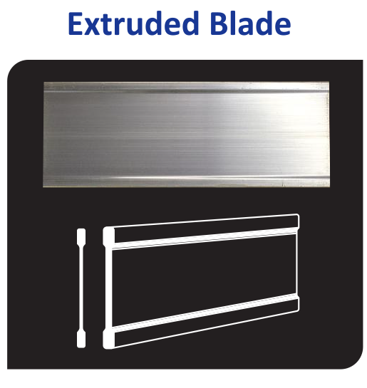Vulcan Aluminum Extruded Blade Sign Blank